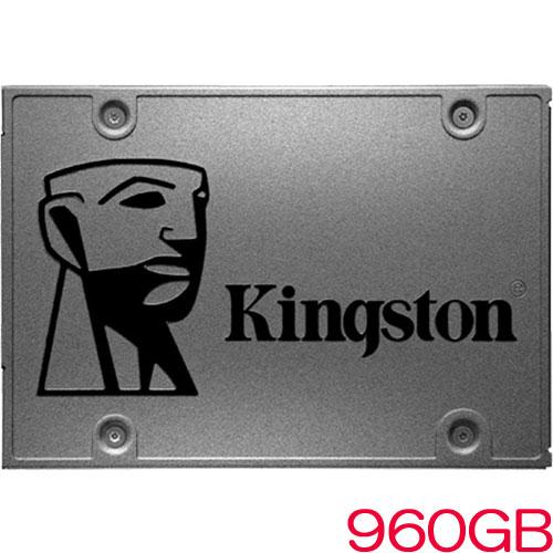 キングストン SA400S37/960G [960GB SSDNow A400 SSD (2.5インチ 7mm / SATA 6G / 3D TLC / 300TBW / 3年保証)]