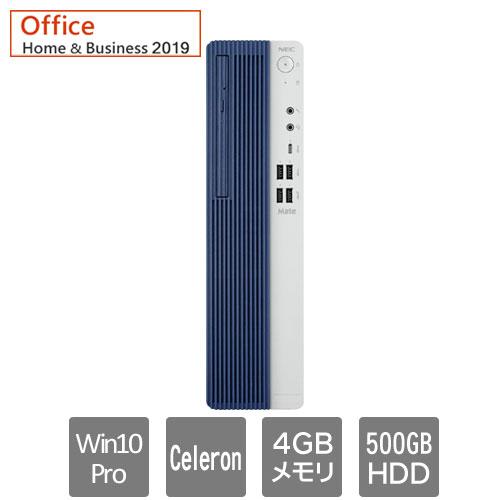 NEC Mate PC-MRE35LZ7AAS7 [ML(Celeron 4GB HDD500GB マルチ H&B2019 Win10Pro)]