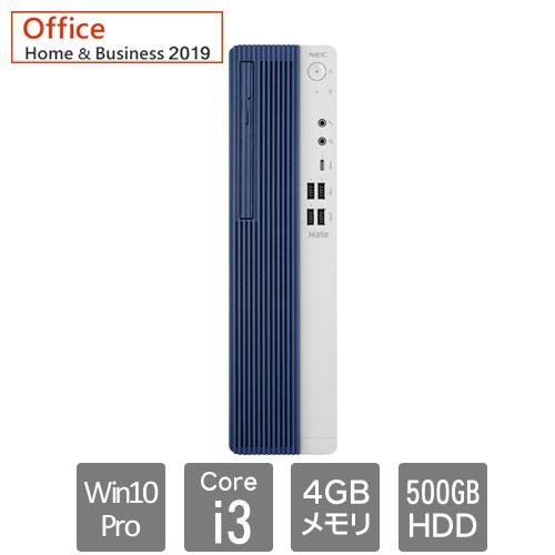 NEC Mate PC-MRL36LZ7AAS7 [ML(Core i3 4GB HDD500GB マルチ H&B2019 Win10Pro)]