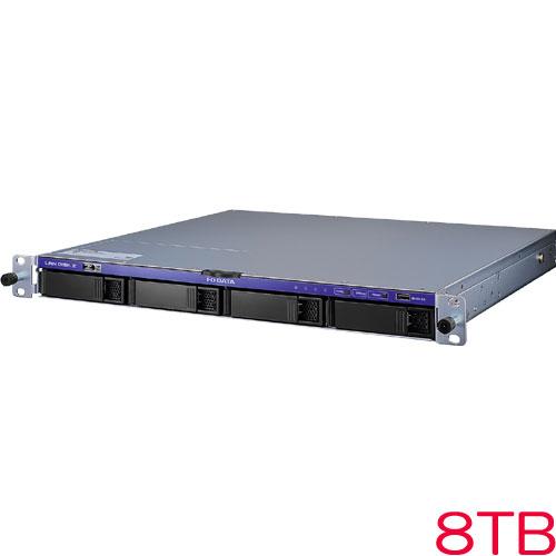 HDL4-Z19SATA-U HDL4-Z19SATA-8-U [WS IoT2019 Storage Std 1UラックNAS 8TB]
