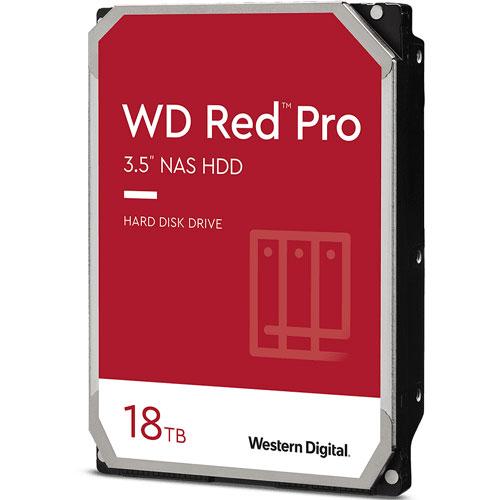 ウエスタンデジタル WD181KFGX [WD Red Pro(18TB 3.5インチ SATA 6G 7200rpm 512MB)]