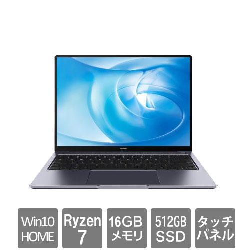 ファーウェイ(Huawei) KELWFEHS5CNCWNUA [HUAWEI MateBook 14/Space Gray (Ryzen 7 16GB SSD512GB Win10Home64 14)]