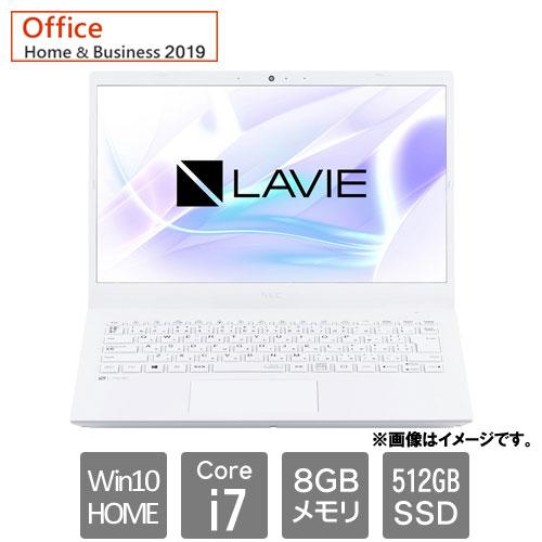 NEC PC-N1475BAW [LAVIE N14 - N1475/BAW (Core i7 8GB SSD512GB Win10Home 14.0FHD H&B2019 パールホワイト)]