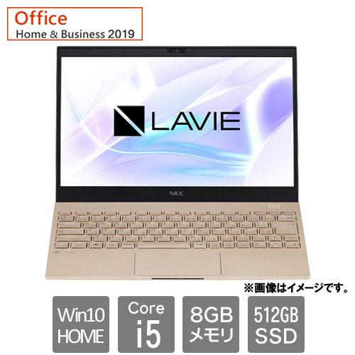 NEC PC-PM550BAG [LAVIE Pro Mobile - PM550/BAG(Corei5 8GB SSD512GB Win10H 13.3FHD HB2019 フレアゴールド)]