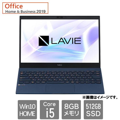 NEC PC-PM550BAL [LAVIE Pro Mobile - PM550/BAL(Corei5 8GB SSD512GB Win10H 13.3FHD HB2019 ネイビーブルー)]