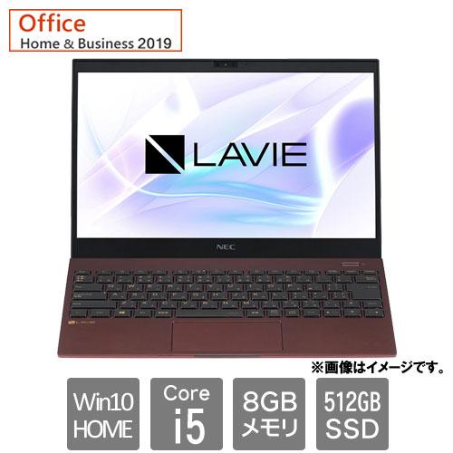 NEC PC-PM550BAR [LAVIE Pro Mobile - PM550/BAR(i5 8GB SSD512GB Win10H 13.3FHD HB2019 クラシックボルドー)]