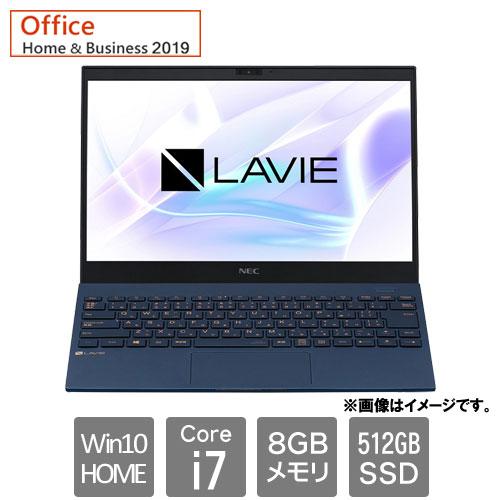 NEC PC-PM750BAL [LAVIE Pro Mobile - PM750/BAL (i7 8GB SSD512GB Win10Home 13.3FHD HB2019 ネイビーブルー)]