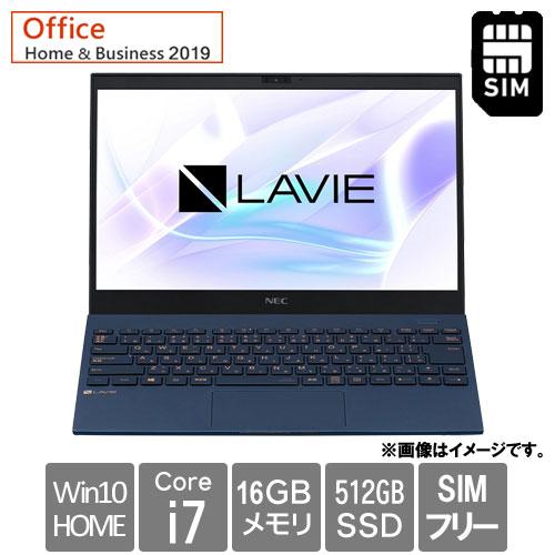 NEC PC-PM950BAL [LAVIE Pro Mobile - PM950/BAL (i7 16GB SSD512GB Win10H 13.3FHD H&B2019 ネイビーブルー)]