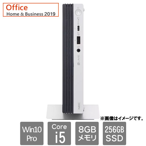 NEC PC-GD236YZNT3FLA9ZZA [LAVIE Direct DT Slim (Core i5 8GB SSD256GB Win10Pro64 H&B2019 SM)]