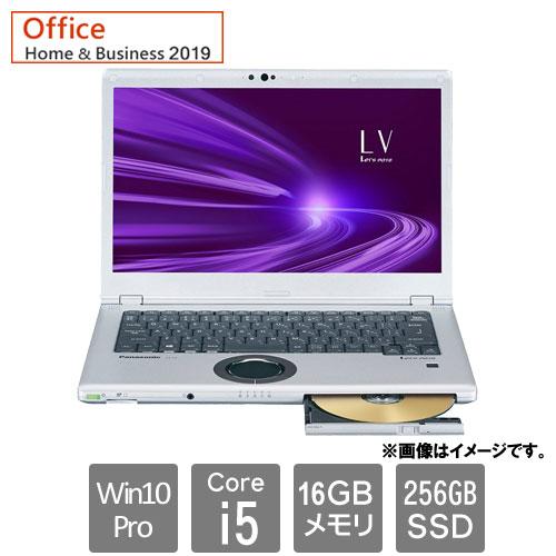 パナソニック Let`s note LV9 CF-LV9CDMQR [Let's note LV9 店(Corei5 16GB SSD256GB Win10Pro64 14FHD H&B2019 BK&SV)]
