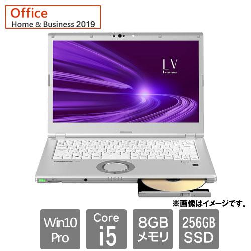 パナソニック Let`s note LV9 CF-LV9CDSQR [Let's note LV9 店(Core i5 8GB SSD256GB Win10Pro64 14FHD H&B2019 SV)]