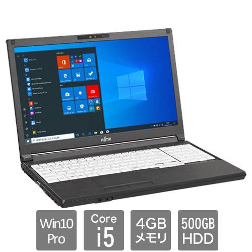 富士通 バリュー LIFEBOOK FMVA88041P [LIFEBOOK A5510/FX (Core i5 4GB HDD500GB Win10Pro64 15.6HD SM)]