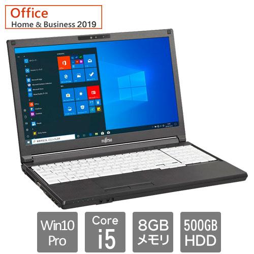 富士通 バリュー LIFEBOOK FMVA88049P [LIFEBOOK A5510/FX (Core i5 8GB HDD500GB Win10Pro64 15.6HD SM H&B2019)]