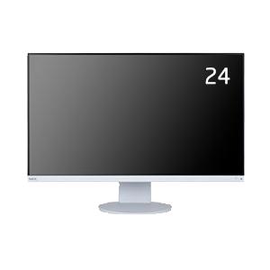 NEC MultiSync(マルチシンク) LCD-E243F [24型USB-C対応3辺狭額縁ワイド液晶ディスプレイ]