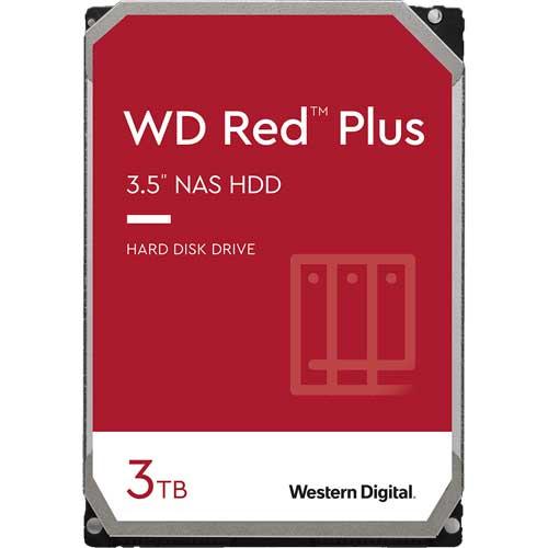 ウエスタンデジタル WD30EFZX [WD Red Plus(3TB 3.5インチ SATA 6G 5400rpm 128MB CMR)]