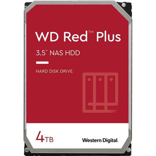 ウエスタンデジタル WD40EFZX [WD Red Plus(4TB 3.5インチ SATA 6G 5400rpm 128MB CMR)]