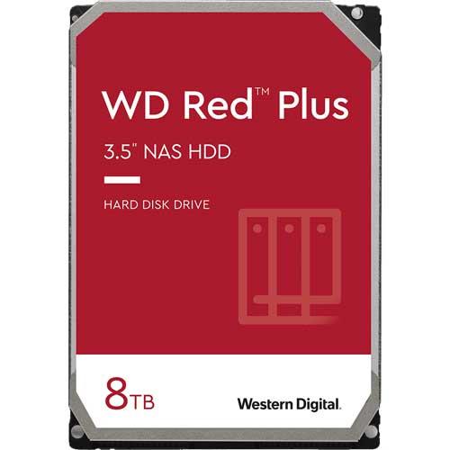 ウエスタンデジタル WD80EFBX [WD Red Plus(8TB 3.5インチ SATA 6G 7200rpm 256MB CMR)]