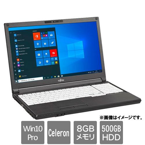 富士通 FMVA8803AX [LIFEBOOK A5510/FX(Celeron 8GB HDD500GB Win10Pro64 15.6HD)]