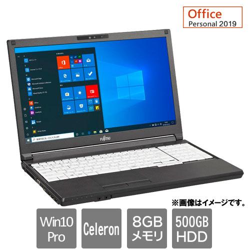 富士通 FMVA8803BX [LIFEBOOK A5510/FX(Celeron 8GB HDD500GB Win10Pro64 15.6HD Personal2019)]