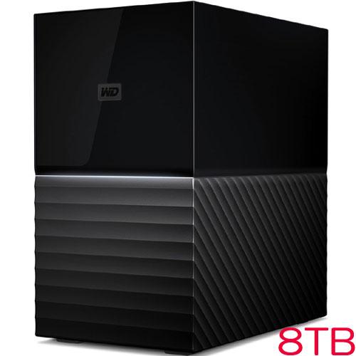 WDBFBE0080JBK-JESE [My Book Duo RAID対応ストレージ 8TB ブラック]
