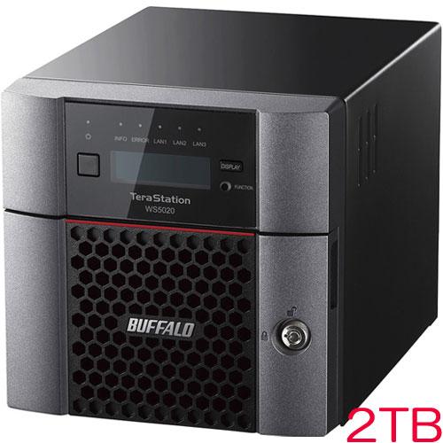 バッファロー WS5220DN02S9 [WS IoT2019 Std搭載 2ベイデスクトップNAS 2TB]