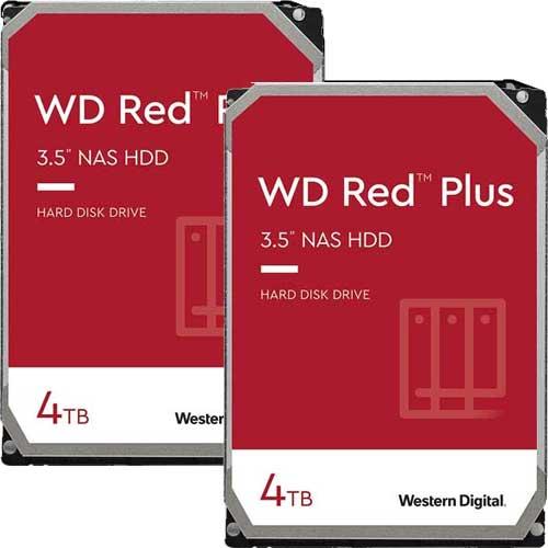 ウエスタンデジタル ★お得な2台セット★WD40EFZX [WD Red Plus(4TB 3.5インチ SATA 6G 5400rpm 128MB CMR)]
