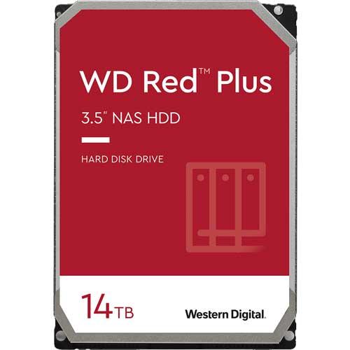 ウエスタンデジタル WD140EFGX [WD Red Plus(14TB 3.5インチ SATA 6G 7200rpm 512MB CMR)]