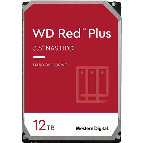 ウエスタンデジタル WD120EFBX [WD Red Plus(12TB 3.5インチ SATA 6G 7200rpm 256MB CMR)]