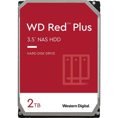 ウエスタンデジタル WD20EFZX [WD Red Plus(2TB 3.5インチ SATA 6G 5400rpm 128MB CMR)]
