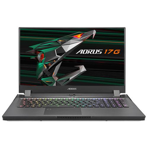 ギガバイト AORUS 17G YC-8JP6450SH [i7-10870H/32GB/1TB SSD/17.3型 FHD 300Hz IPS/RTX 3080/11ax/Win10 Home]