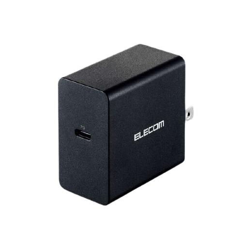 エレコム ACDC-PD0745BK [ノートPC用ACアダプター/PD対応/45W/Type-C1ポート]
