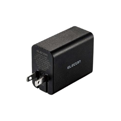 エレコム ACDC-PD1165BK [ノートPC向けACアダプター/Type-C1ポート/GaN/ブラック]
