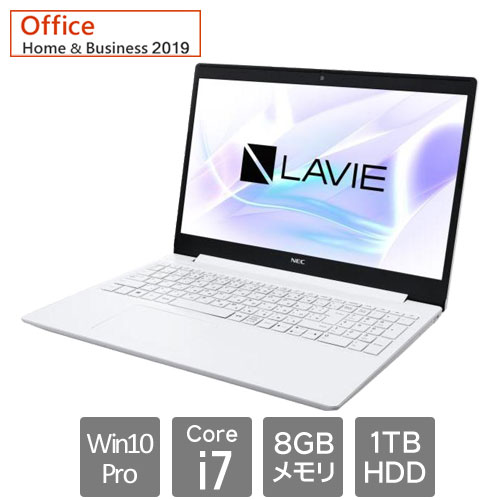 NEC PC-GN186RGJLBFHG2THA [LAVIE Direct NS (Core i7 8GB HDD1TB 15.6 Win10Pro64 BD H&B2019)]