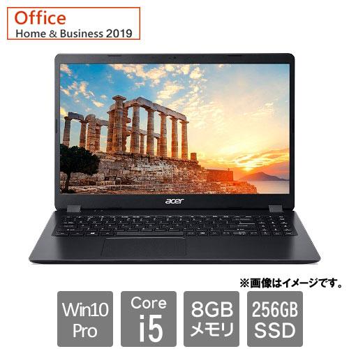 エイサー Extensa [EX215-52-A58UB9 (Core i5-1035G1 8GB SSD256GB 15.6FHD Win10rPro64 H&B2019 ブラック)]