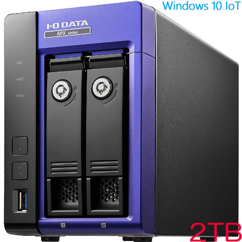 アイオーデータ APX2-W10AI3A APX2-W10AI3A-2 [Win10 IoT Ent/i3 特定用途向け端末 2TB]
