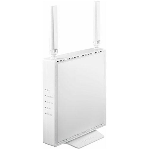 アイオーデータ WN-DEAX1800GR WN-DEAX1800GRW [可動式アンテナ型 Wi-Fi 6対応Wi-Fiルーター ホワイト]