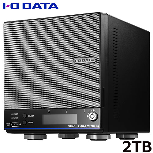 アイオーデータ HDL2-HA HDL2-HA2/S [2ドライブBOXタイプ法人向NAS 2TB 初期導入セット]
