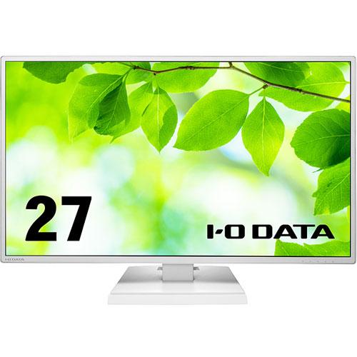 アイオーデータ LCD-CF271ED LCD-CF271EDW-A [「5年保証」USB-C搭載27型ワイド液晶 ホワイト]