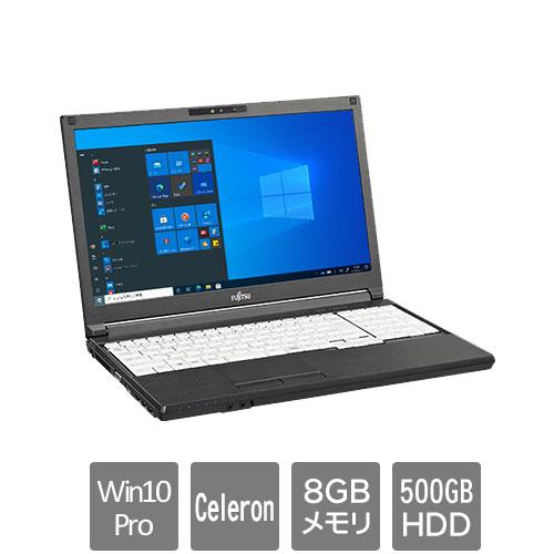 富士通 FMVA8601AX [LIFEBOOK A5511/GX (Celeron 8GB HDD500GB 15.6 Win10Pro64)]