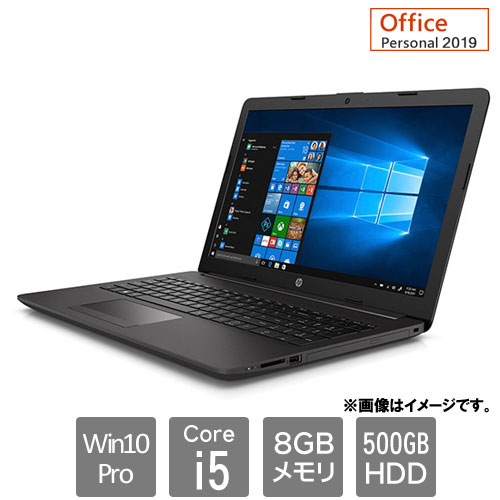 HP 2C3S9PA#ABJ [250G7 (Core i5-1035G1 8GB HDD500GB 15.6HD Win10Pro64 Personal2019 c)]