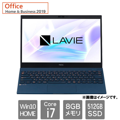 NEC PC-PM750SAL [LAVIE Pro Mobile - PM750/SAL (i7 8GB SSD512GB 13.3FHD Win10Home HB2019 ネイビーブルー)]