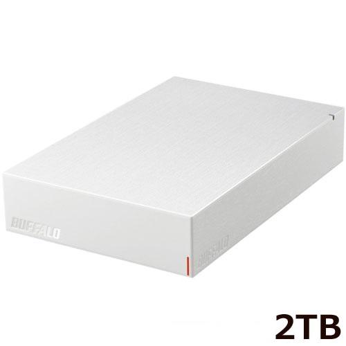 HD-LE2U3-WB [USB3.2(Gen.1)対応外付けHDD 2TB ホワイト]