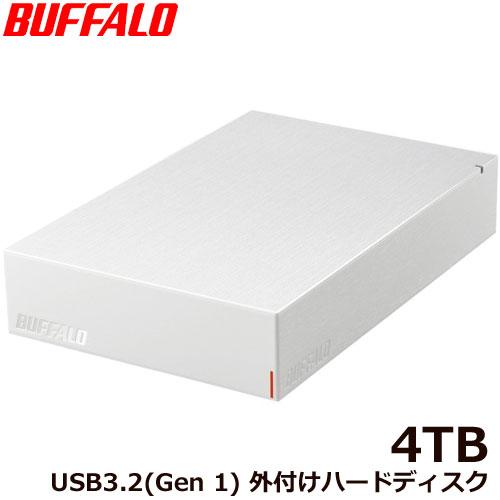 HD-LE4U3-WB [USB3.2(Gen.1)対応外付けHDD 4TB ホワイト]