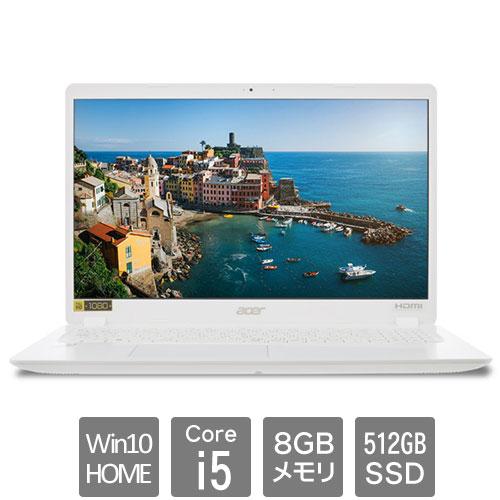 エイサー Aspire 3 [A315-56-F58Y/W (Core i5-1035G1 8GB SSD512GB 15.6FHD Win10Home64 ホワイト)]