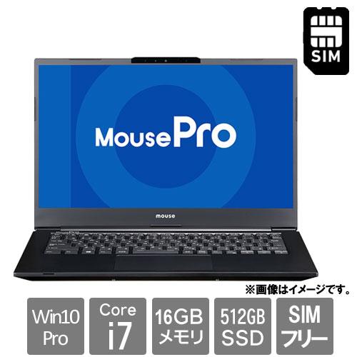 マウスコンピューター 2103MPro-NB420ZLG-BPQD [14型 LTE モバイルノート MousePro-NB420Z(i7 16GB SSD512GB 14.0FHD Win10Pro)]