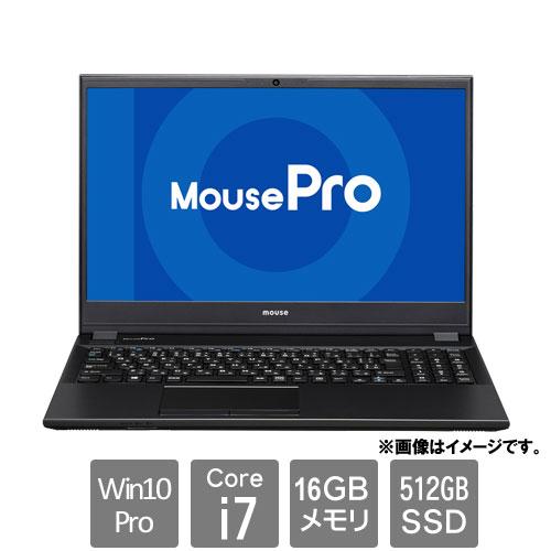 MCJ 2105MPro-NB520Z16G2-BPQD [ノートPC MousePro-NB520Z16G2 (Core i7 16GB SSD512GB 15.6FHD Win10Pro64)]