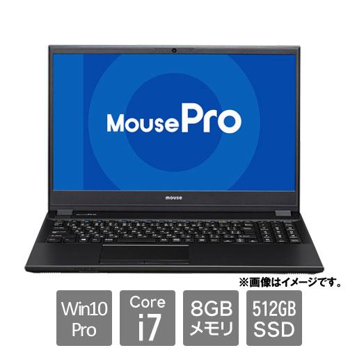MCJ 2105MPro-NB520Z2-BPQD [ノートPC MousePro-NB520Z2 (Core i7-10510U 8GB SSD512GB 15.6FHD Win10Pro64)]