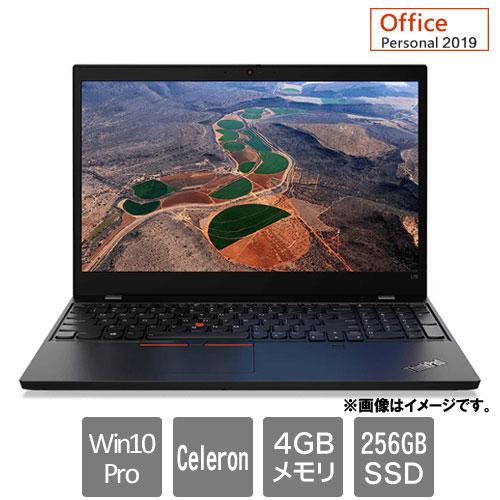 レノボ・ジャパン 20U3004KJP [ThinkPad L15 (Celeron 4GB SSD256GB 15.6HD Win10Pro64 Personal2019)]