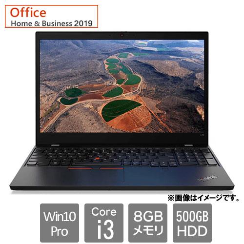 レノボ・ジャパン 20U3004MJP [ThinkPad L15 (Core i3 8GB HDD500GB 15.6HD Win10Pro64 H&B2019)]