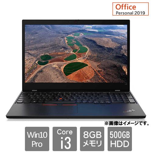 レノボ・ジャパン 20U3004NJP [ThinkPad L15 (Core i3 8GB HDD500GB 15.6HD Win10Pro64 Personal2019)]